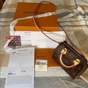 Authentic Louis Vuitton nano speedy 😘😘